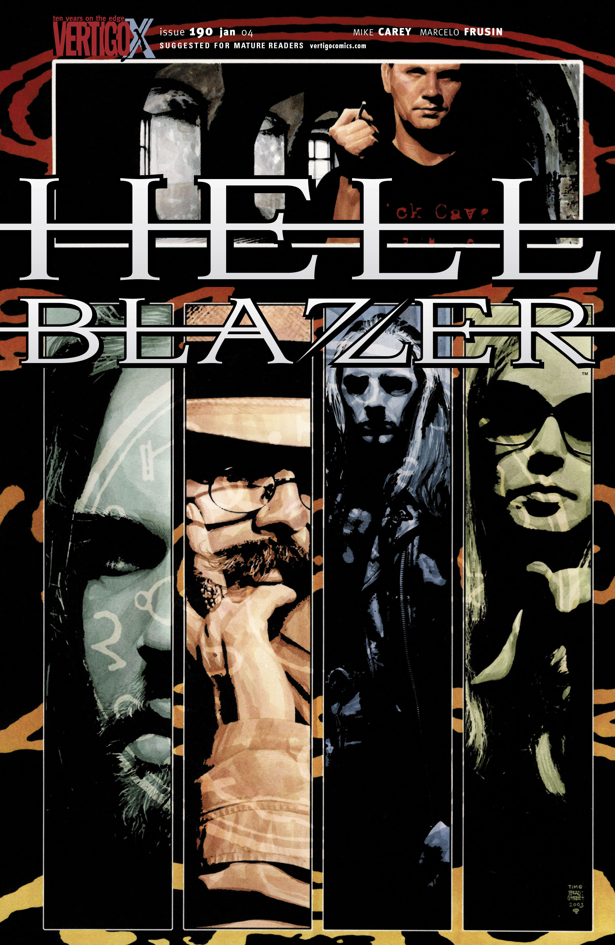 Hellblazer 190 Page 1