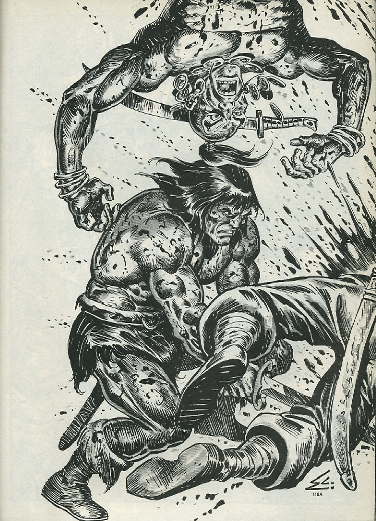 The Savage Sword Of Conan Issue #172 #173 - English 55