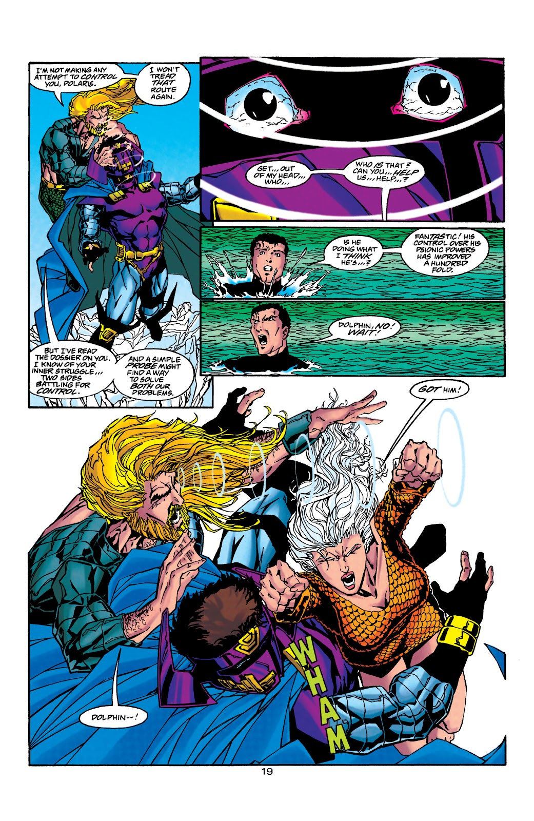 Aquaman (1994) Issue #40 #46 - English 20