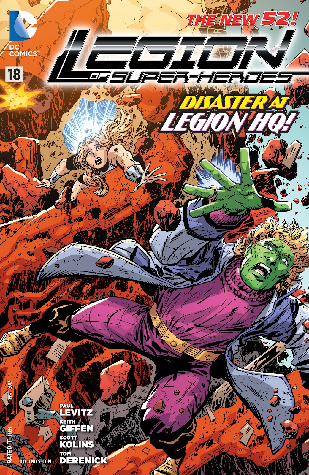 Legion of Super-Heroes (2011) Issue #18 #19 - English 1