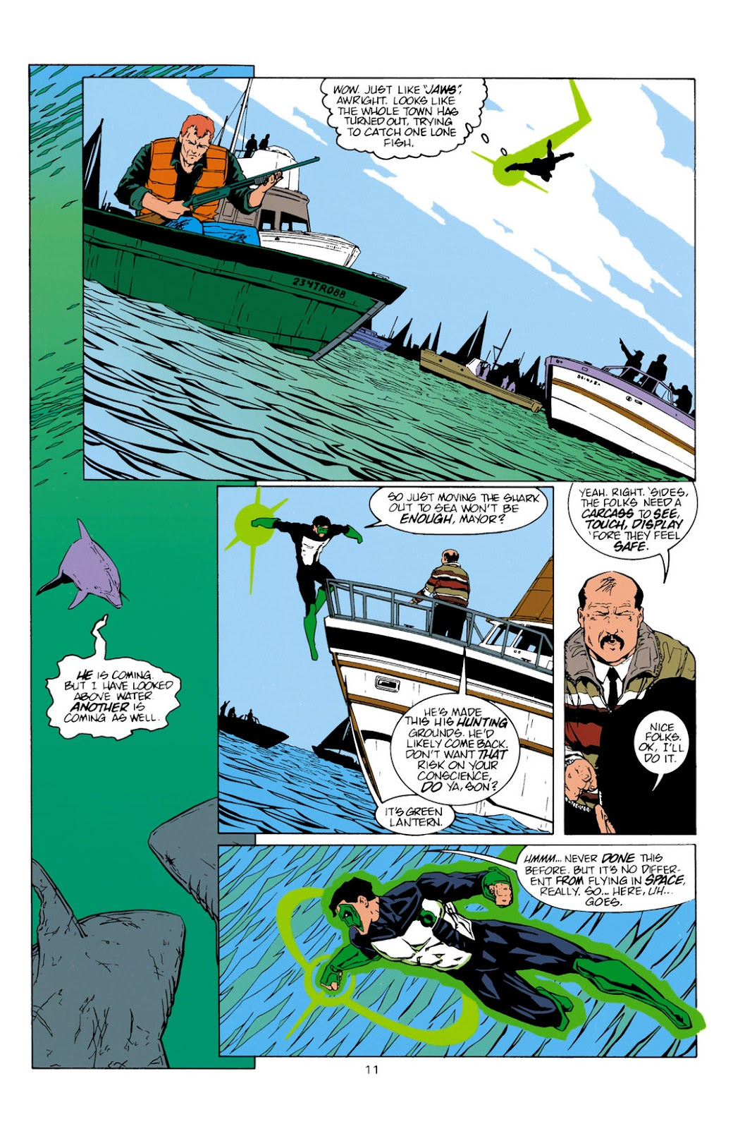 Aquaman (1994) Issue #10 #16 - English 12