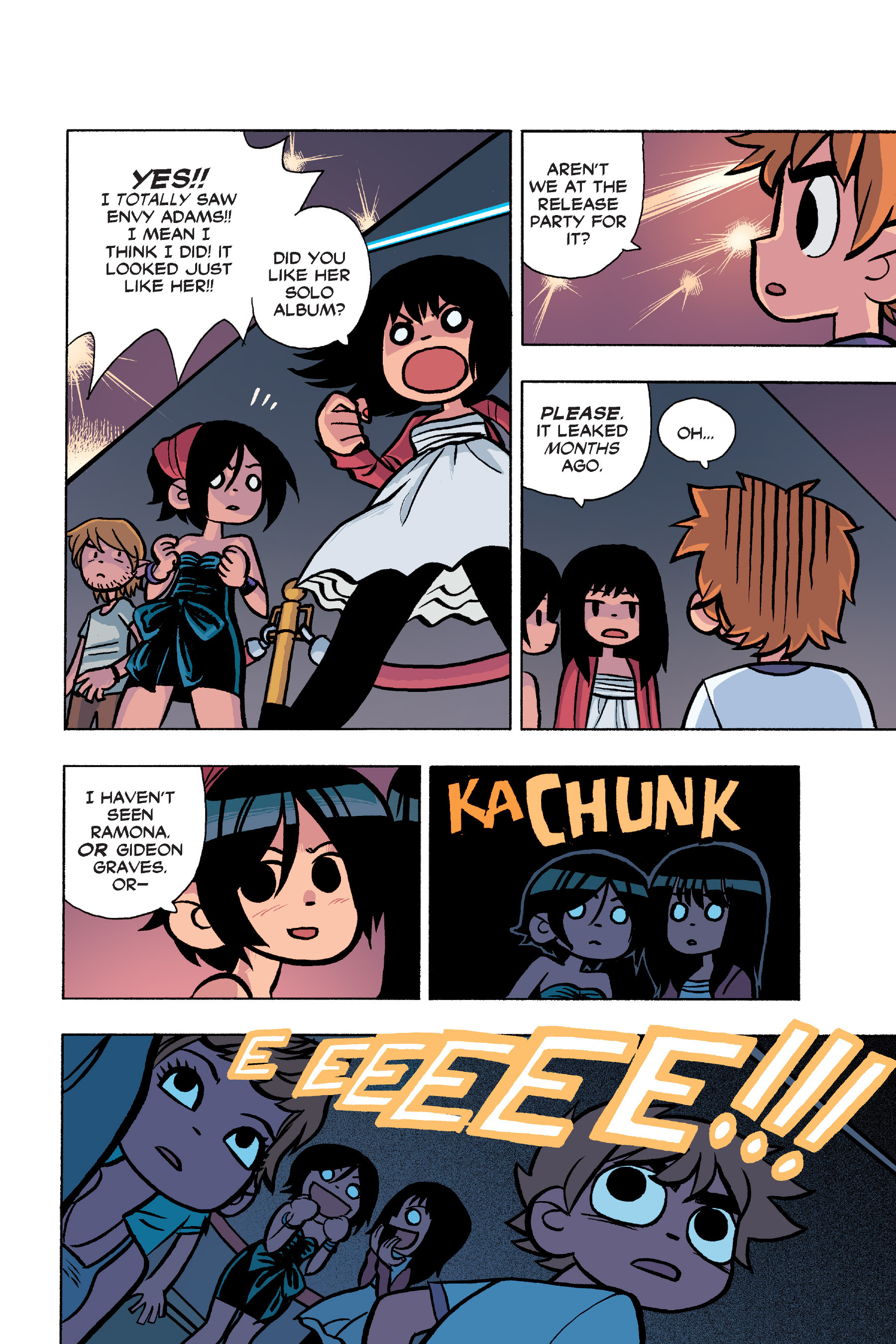 Read online Scott Pilgrim comic -  Issue #6 - 109
