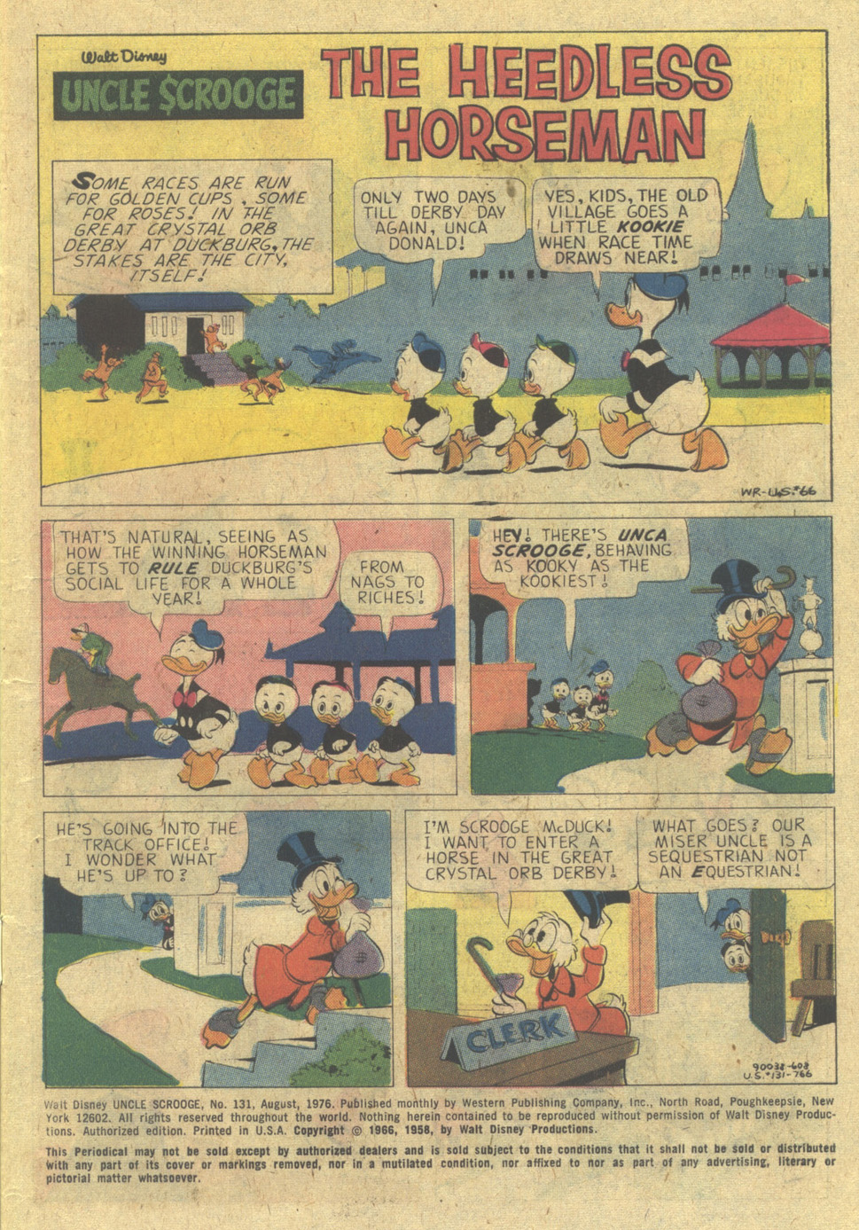Uncle Scrooge (1953) Issue #131 #131 - English 3