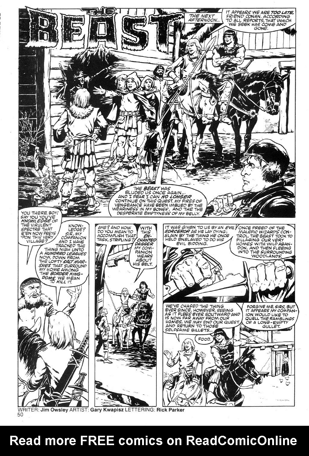 The Savage Sword Of Conan Issue #91 #92 - English 47