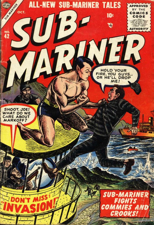 Sub-Mariner Comics #42 #42 - English 1