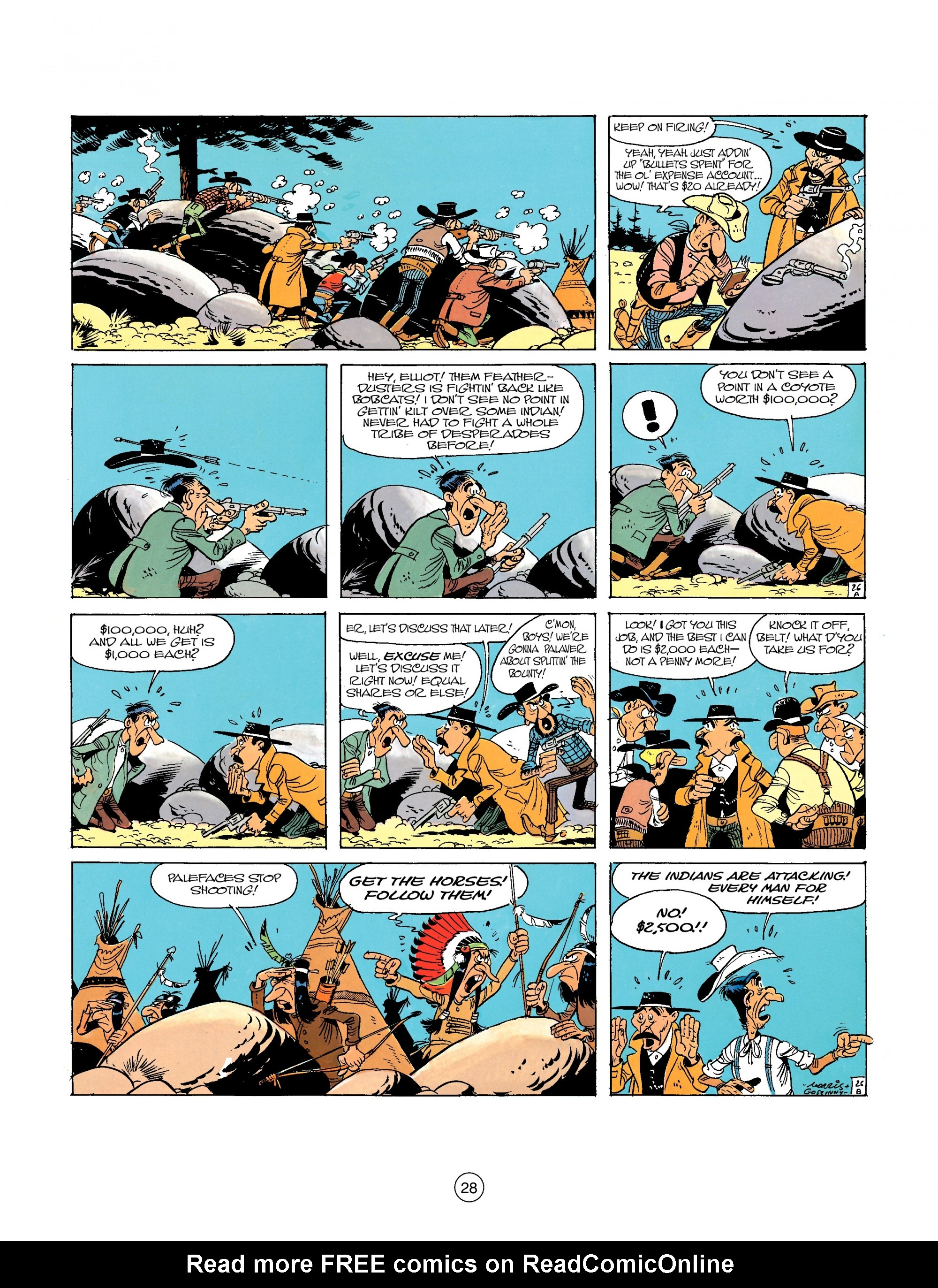 A Lucky Luke Adventure 26 Page 27