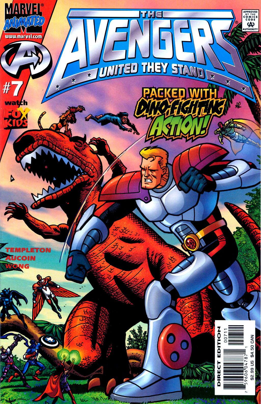 Read online Avengers United They Stand comic -  Issue #7 - 1