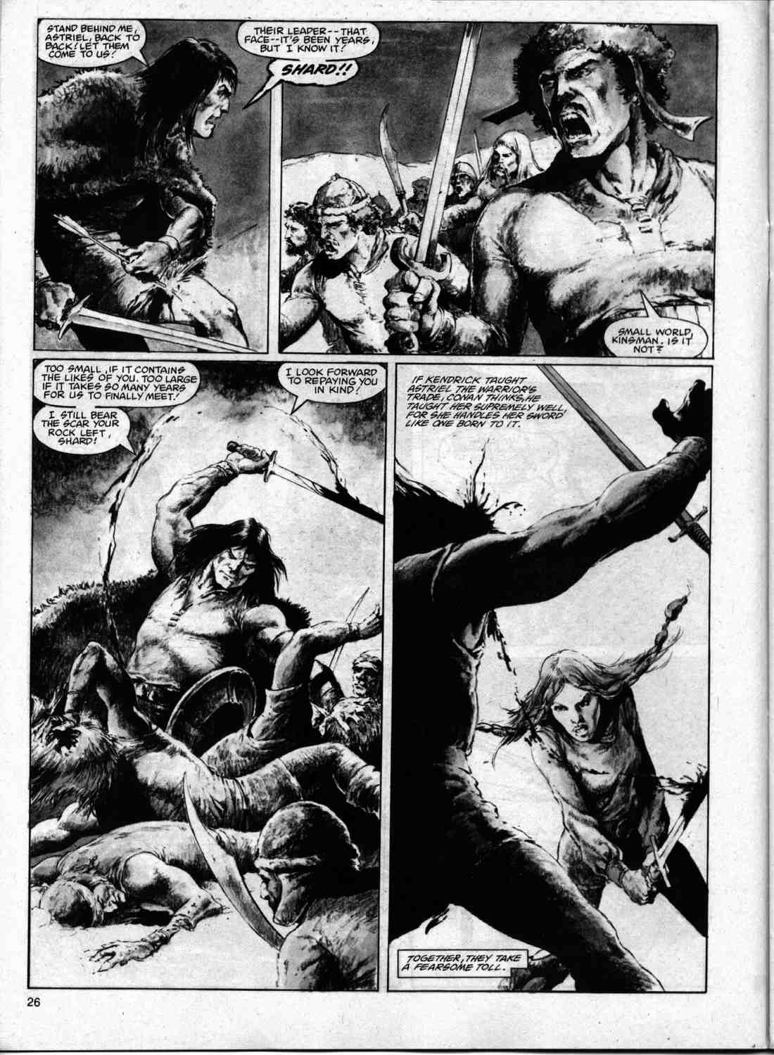 The Savage Sword Of Conan Issue #74 #75 - English 25