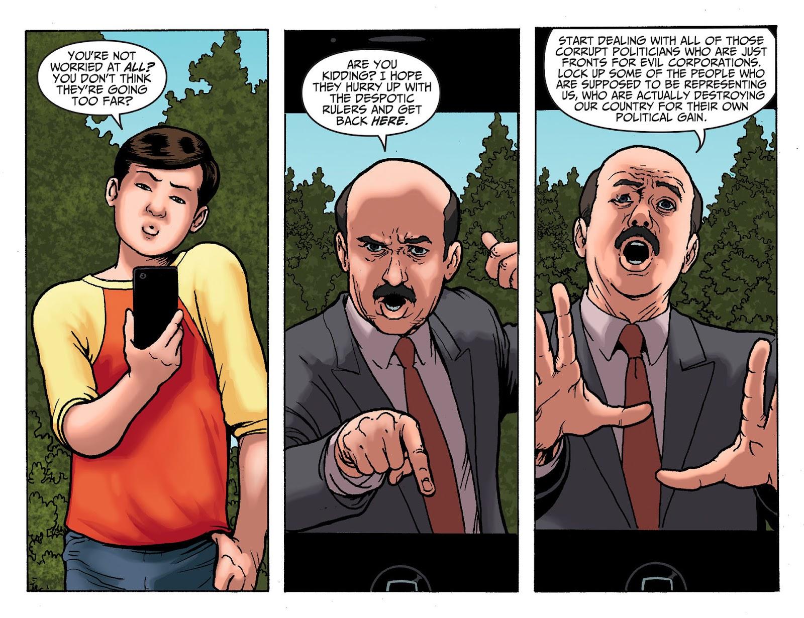 Injustice: Gods Among Us [I] Issue #19 #20 - English 11