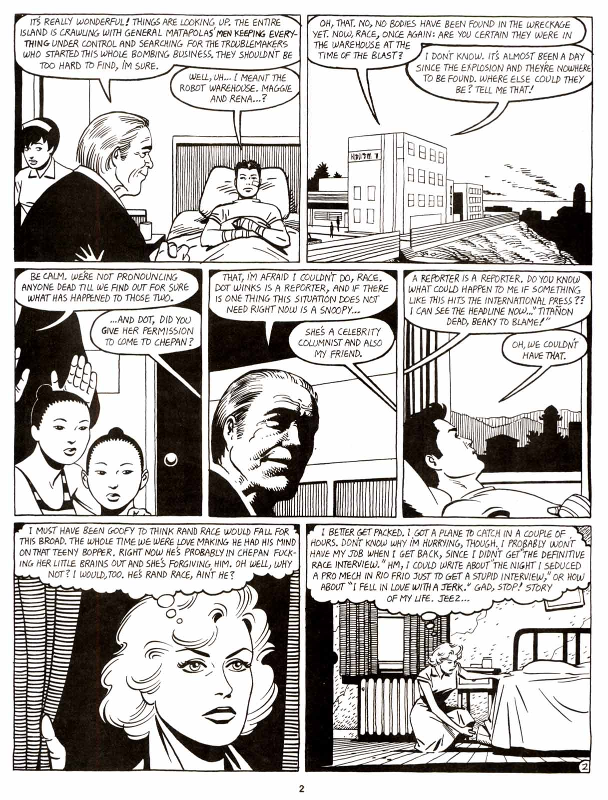 Love and Rockets (1982) Issue #9 #8 - English 4