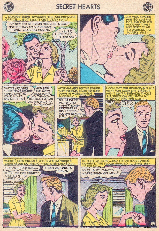 Read online Secret Hearts comic -  Issue #44 - 20