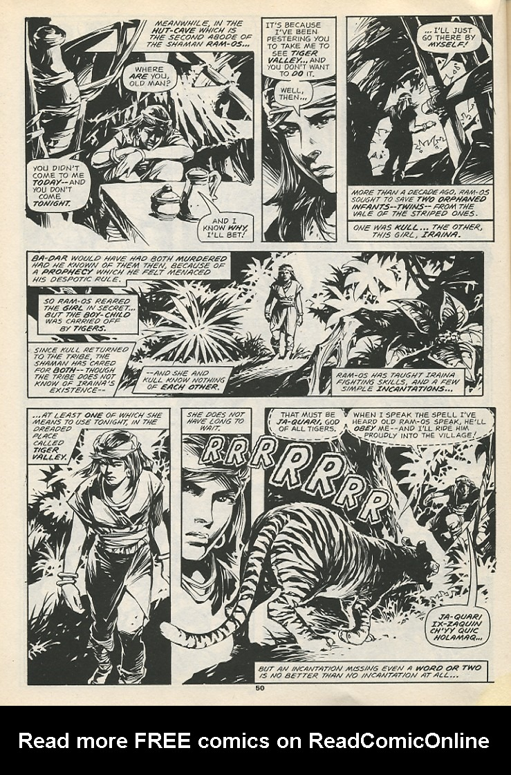 The Savage Sword Of Conan Issue #192 #193 - English 52