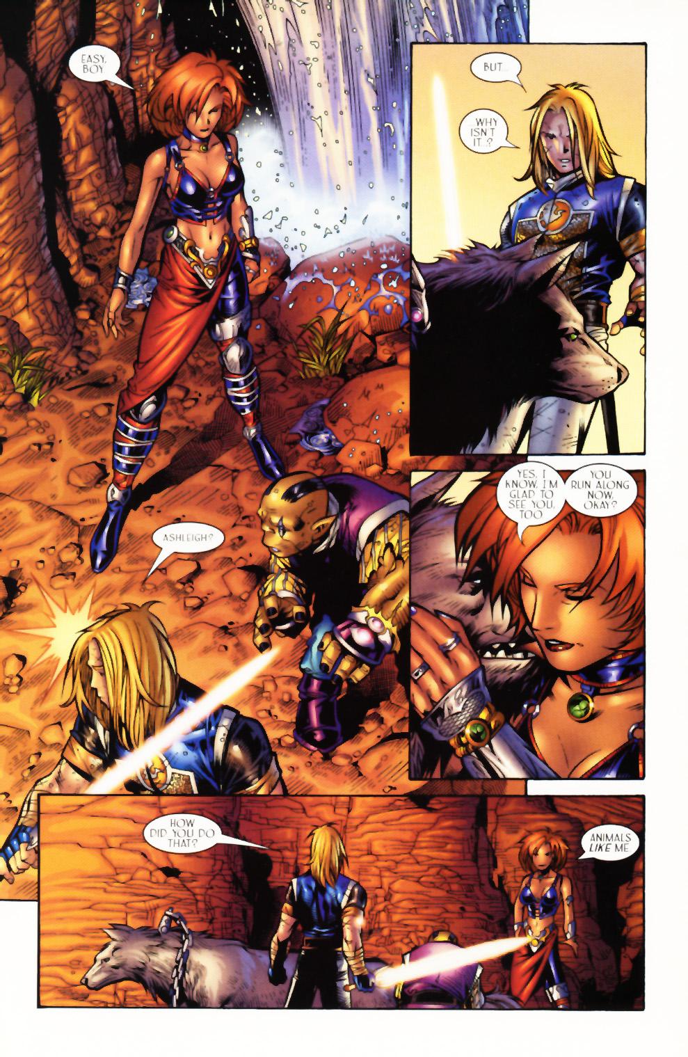Read online Scion comic -  Issue #3 - 20