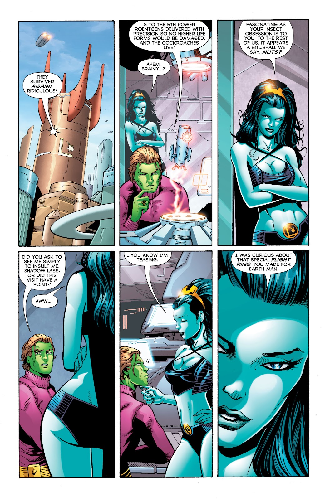 Legion of Super-Heroes (2010) Issue #4 #5 - English 29