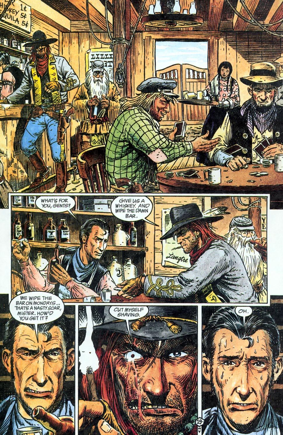Jonah Hex: Two-Gun Mojo Issue #1 #1 - English 21