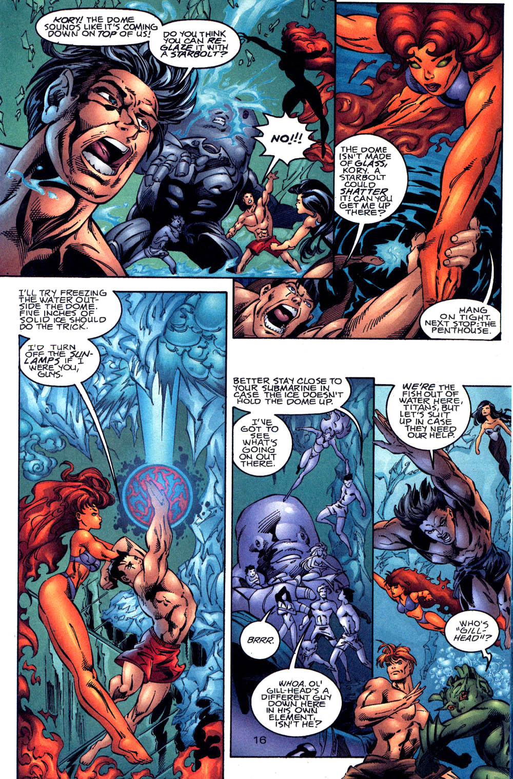 Aquaman (1994) Issue #60 #66 - English 17