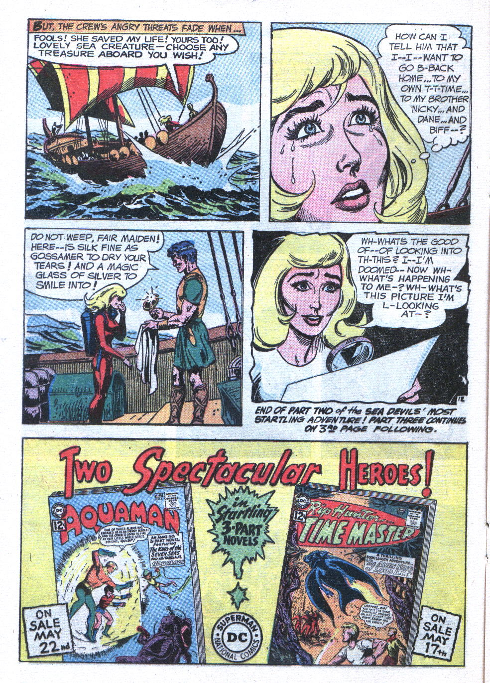 Read online Sea Devils comic -  Issue #6 - 17