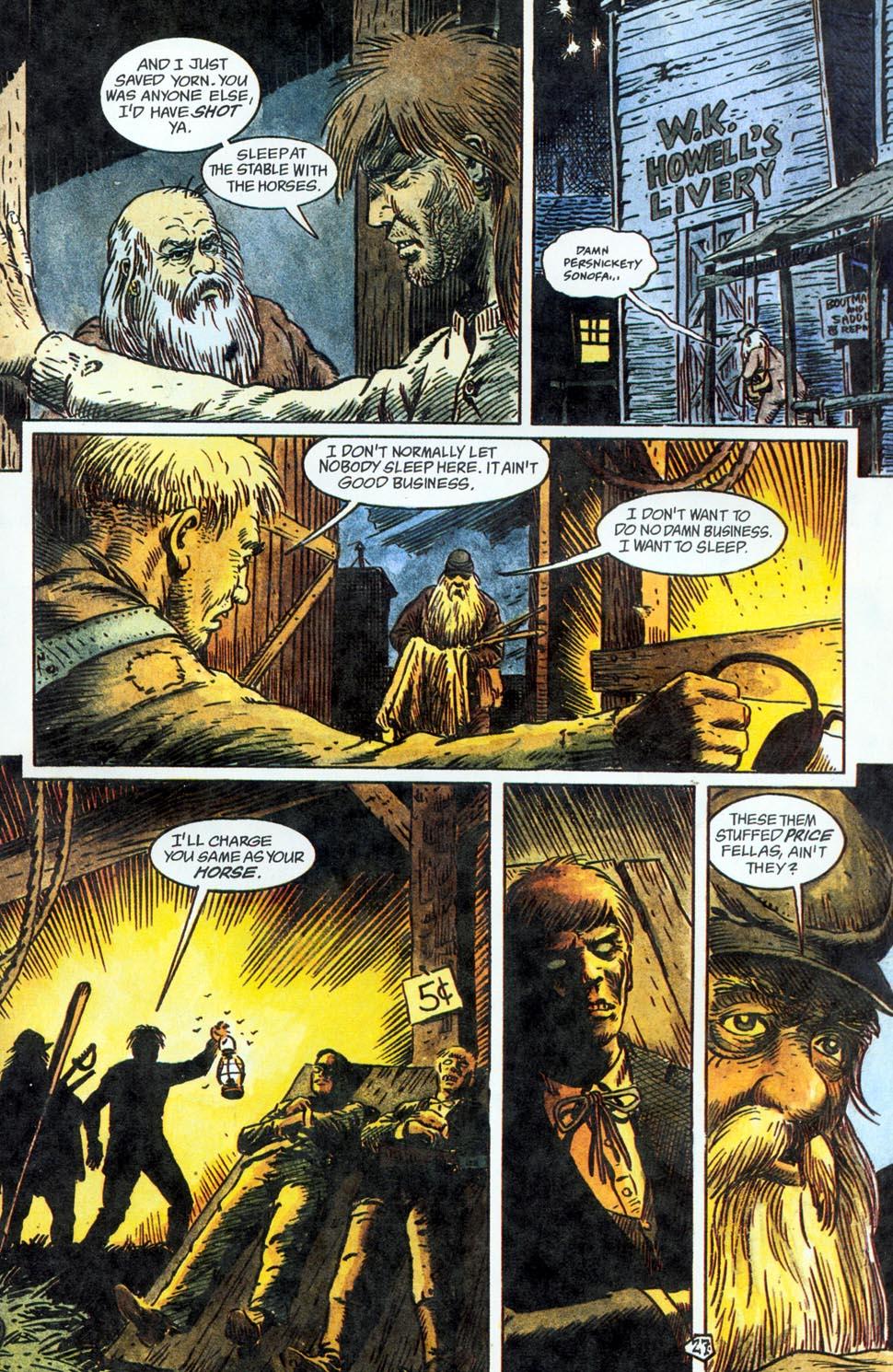 Jonah Hex: Two-Gun Mojo Issue #1 #1 - English 29