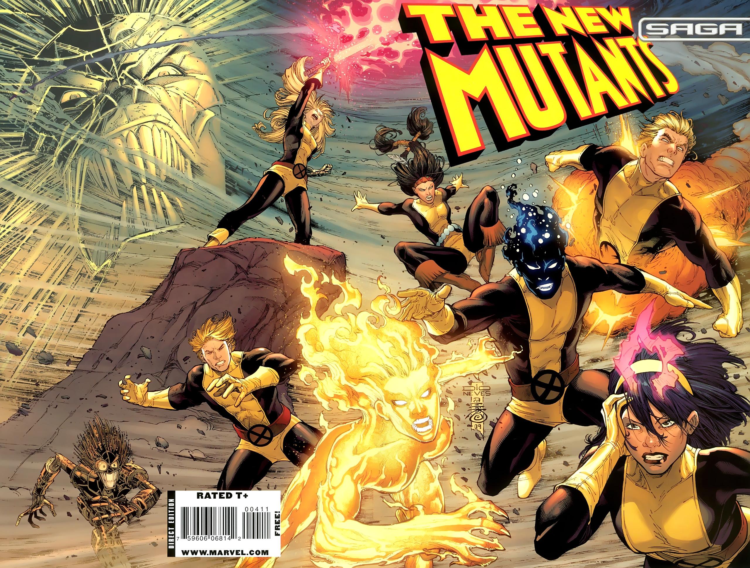 Read online New Mutants Saga comic -  Issue # Full - 1