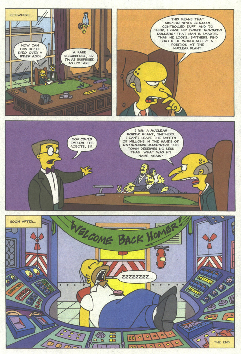 Read online Simpsons Comics comic -  Issue #14 - 22