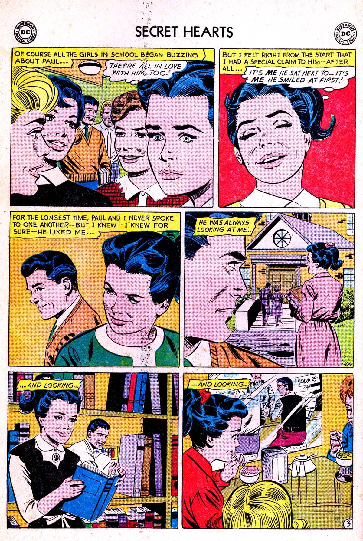 Read online Secret Hearts comic -  Issue #85 - 12