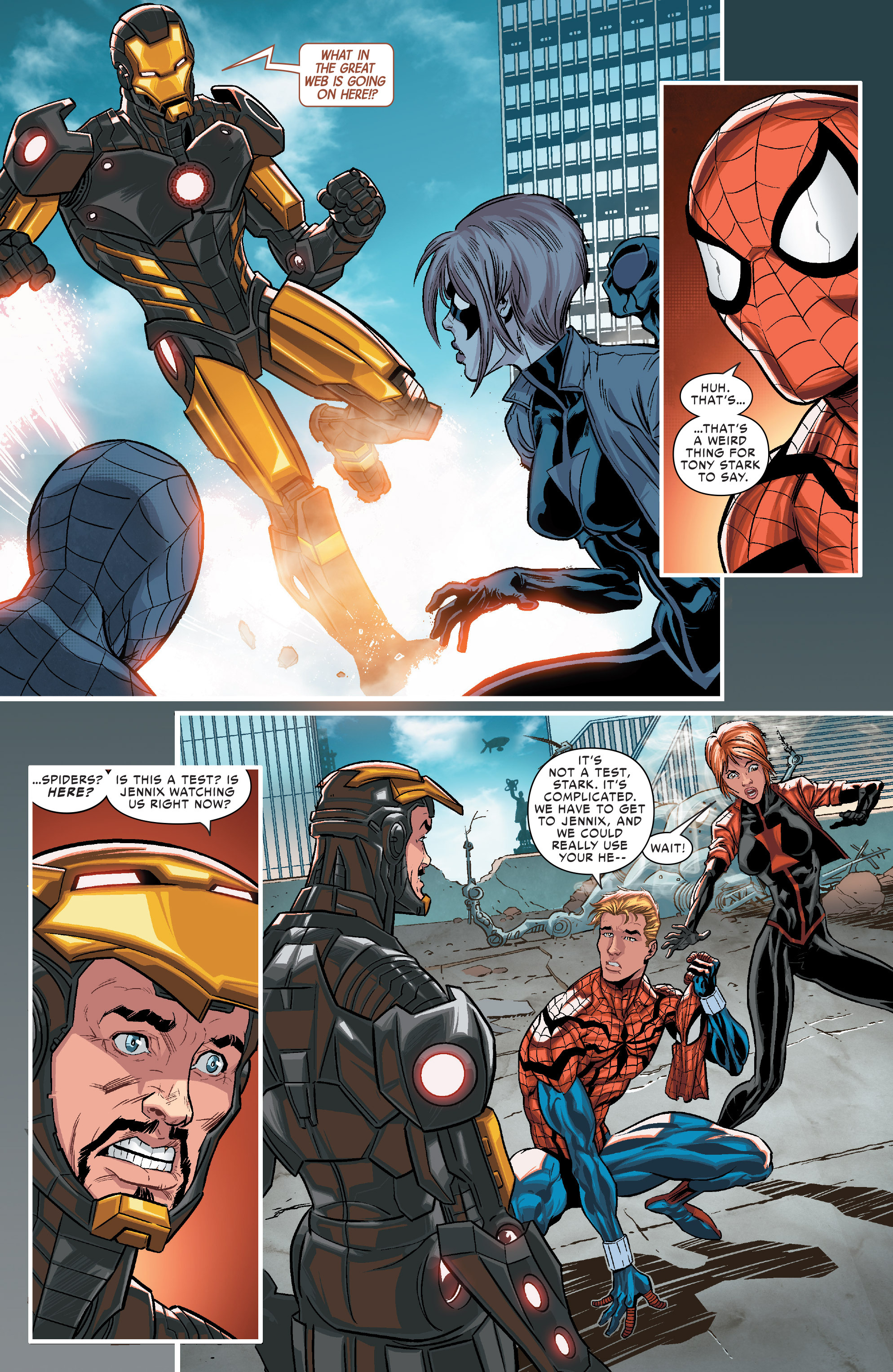 Read online Scarlet Spiders comic -  Issue #1 - 10