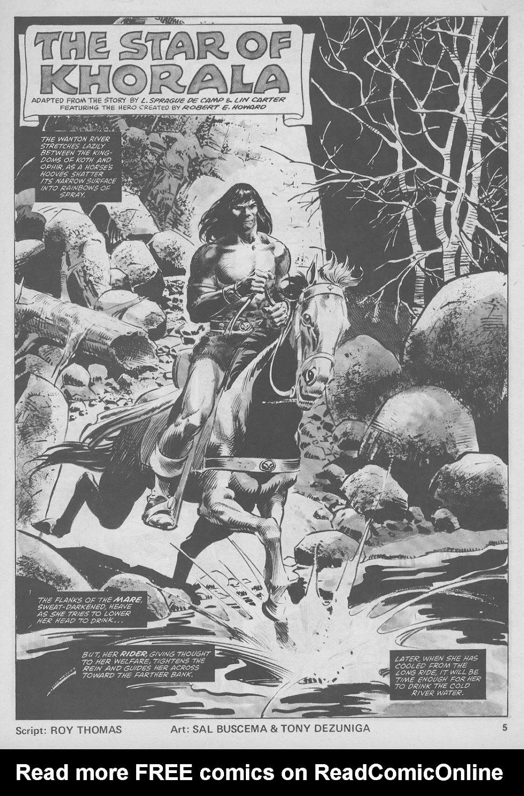 The Savage Sword Of Conan Issue #44 #45 - English 5