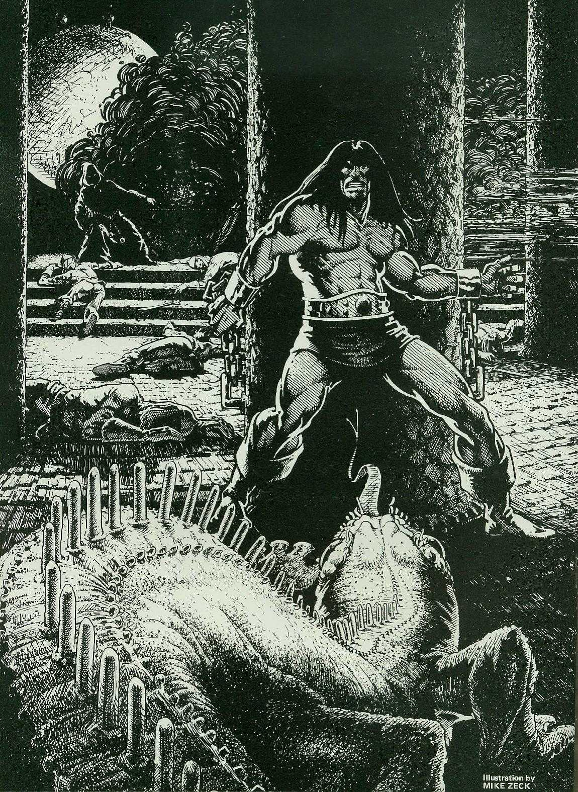 The Savage Sword Of Conan Issue #2 #3 - English 2