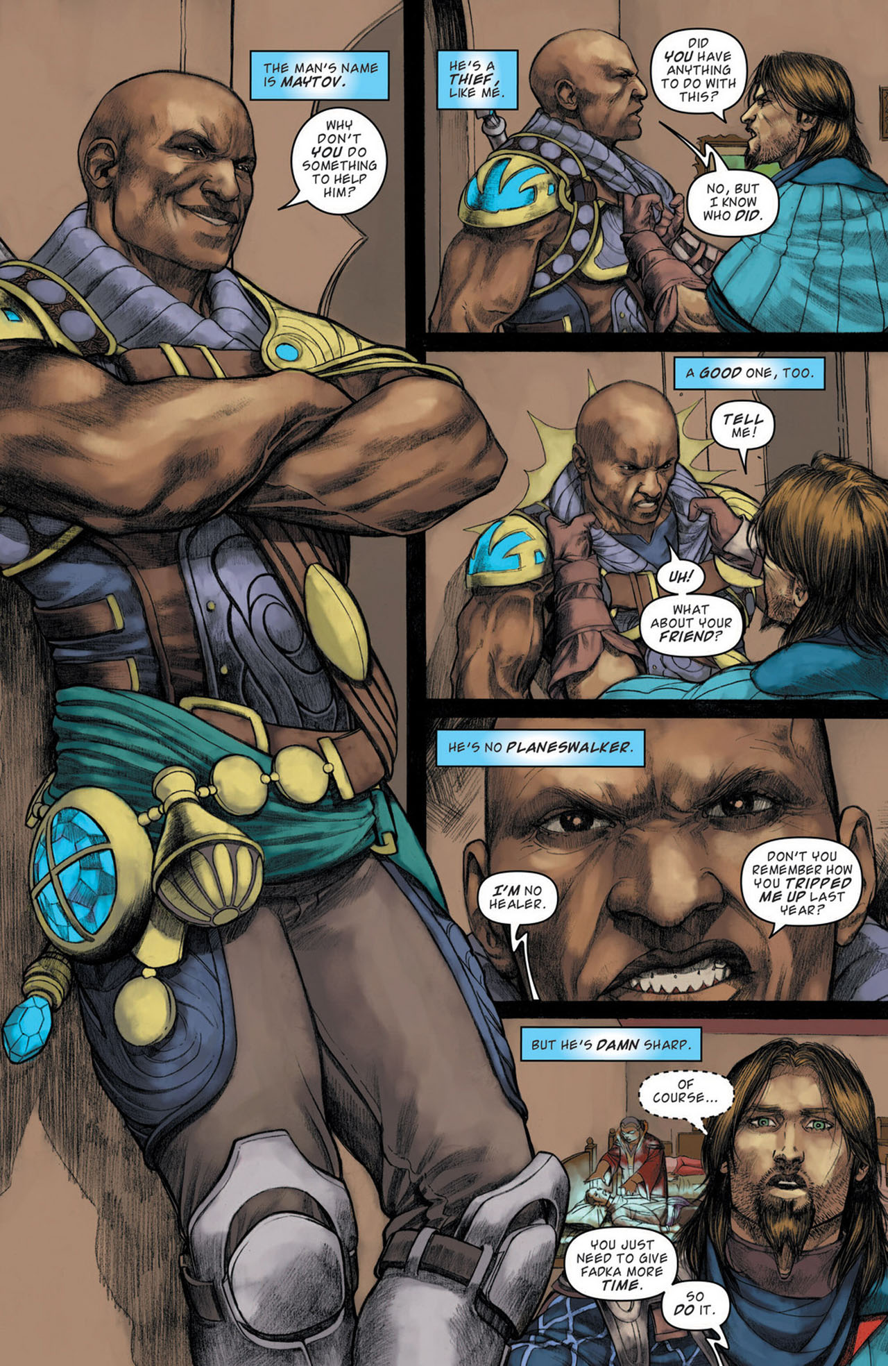 Read online Magic: The Gathering--Path of Vengeance comic -  Issue #1 - 5
