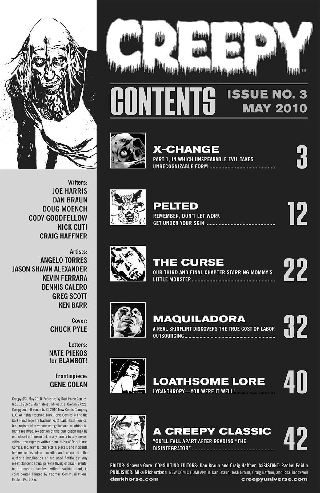 Creepy (2009) Issue #3 #3 - English 3