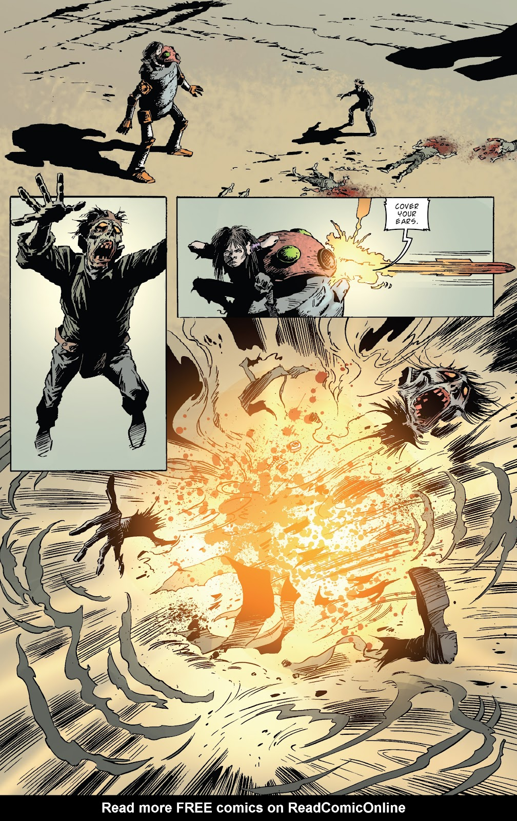 Zombies vs Robots (2015) Issue #5 Page 23