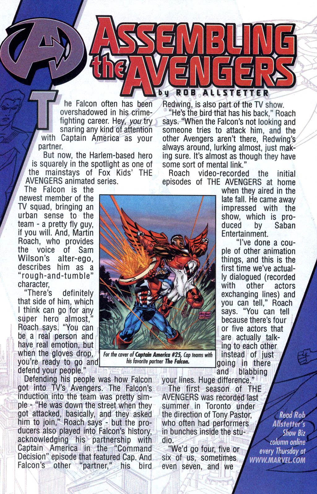 Read online Avengers United They Stand comic -  Issue #7 - 25