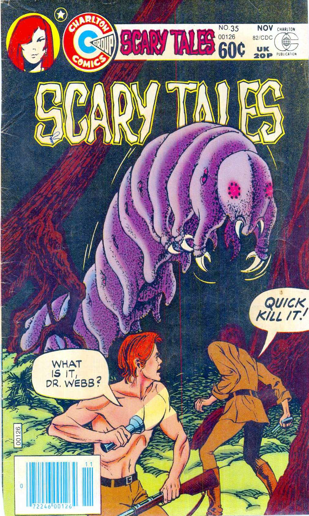 Read online Scary Tales comic -  Issue #35 - 1