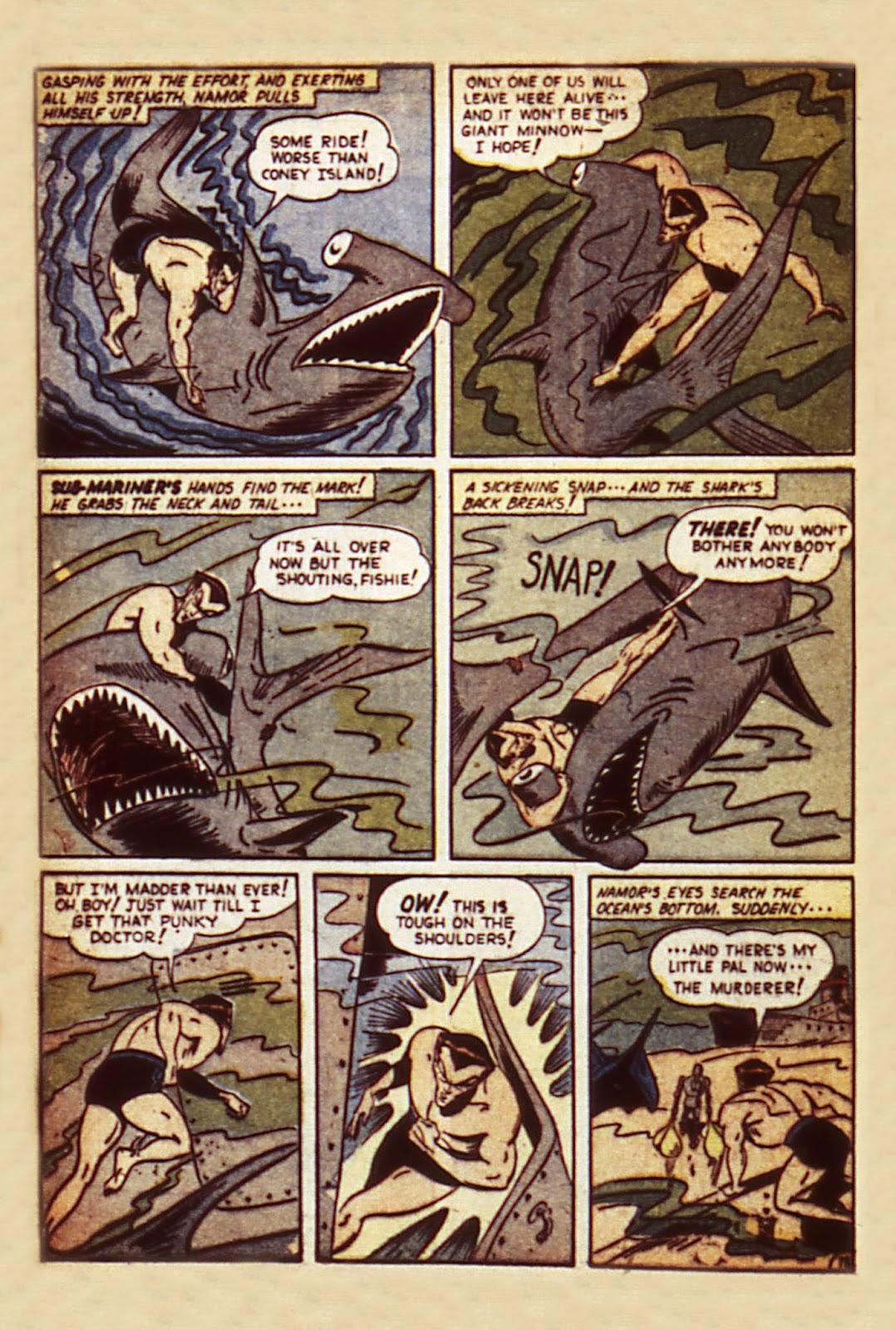 Sub-Mariner Comics Issue #7 #7 - English 20