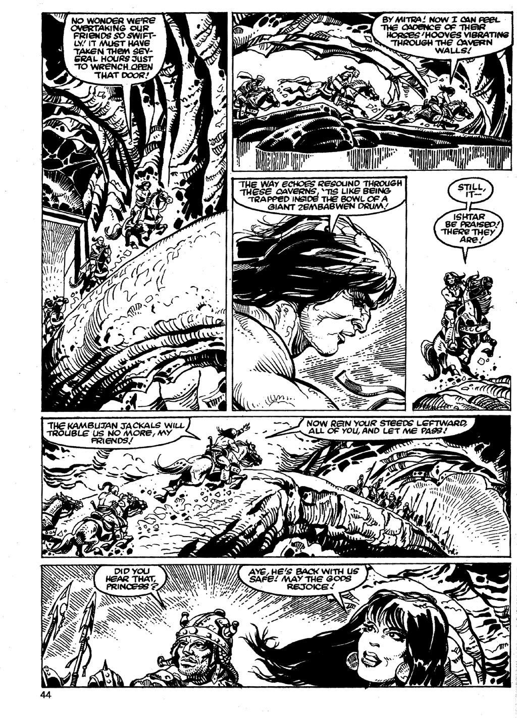 The Savage Sword Of Conan Issue #86 #87 - English 44
