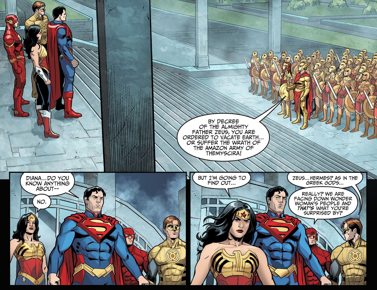 Injustice: Gods Among Us Year Four Issue #6 #7 - English 9