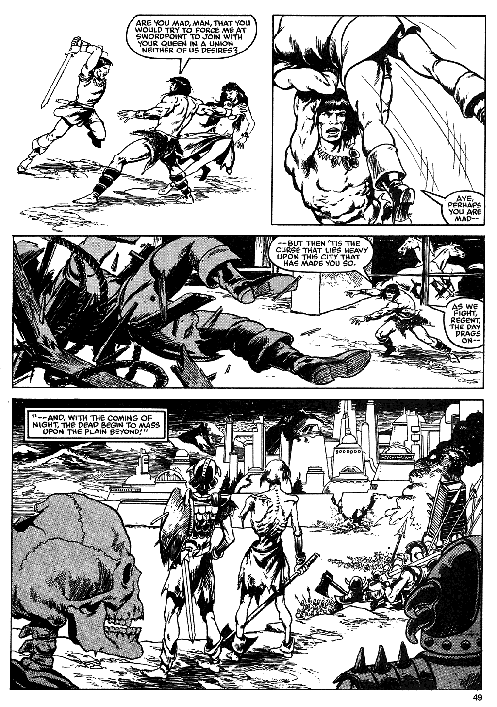 The Savage Sword Of Conan Issue #110 #111 - English 47