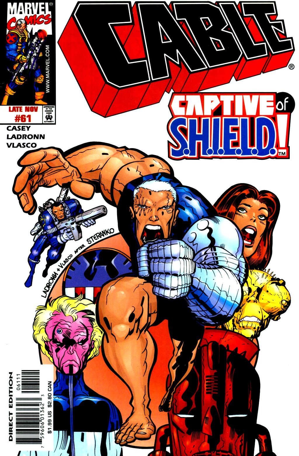 Cable (1993) 61 Page 1