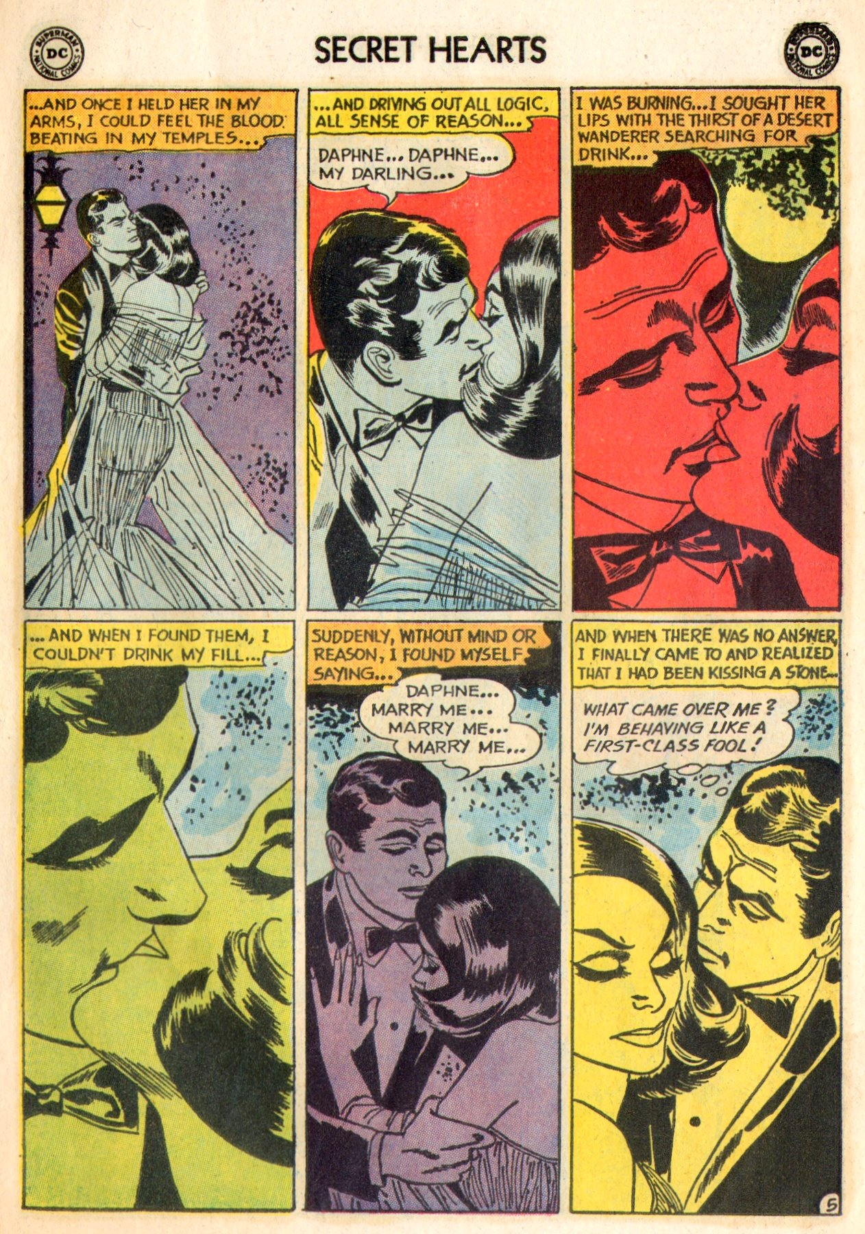 Read online Secret Hearts comic -  Issue #84 - 7