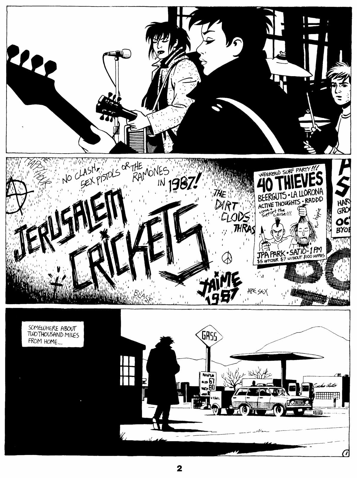Love and Rockets (1982) Issue #21 #20 - English 4