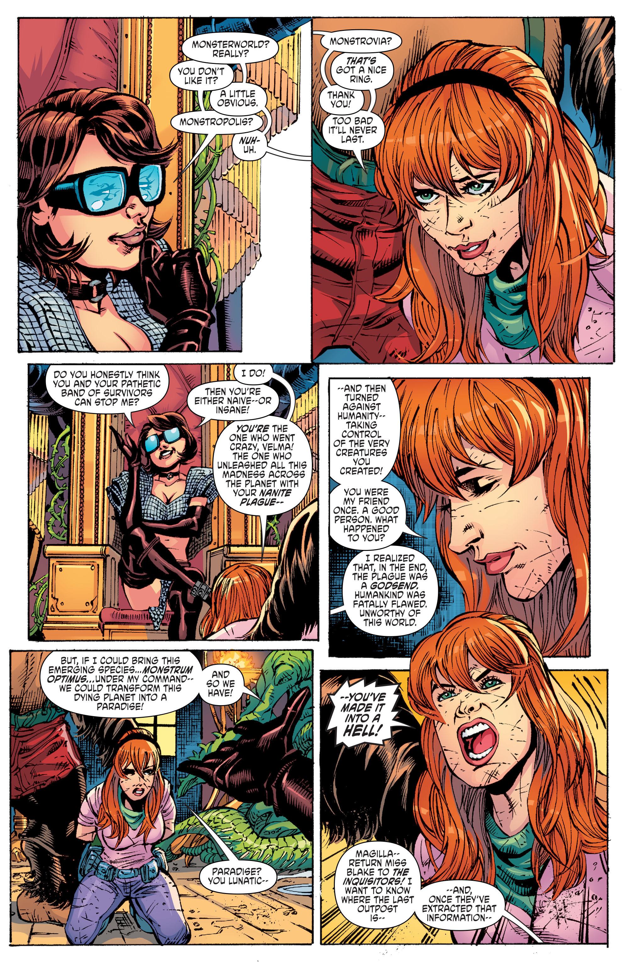Read online Scooby Apocalypse comic -  Issue #10 - 6