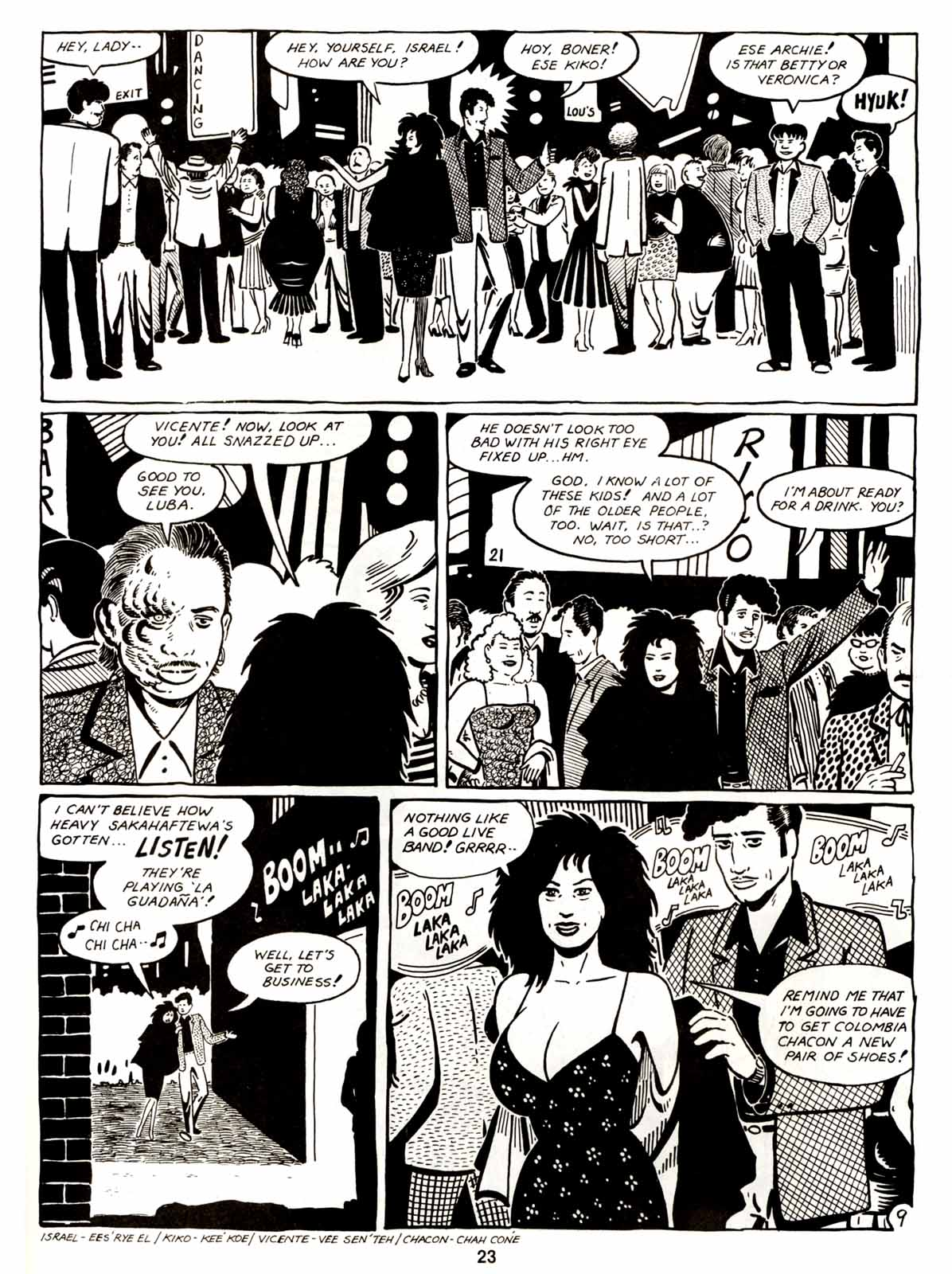 Love and Rockets (1982) Issue #5 #4 - English 25