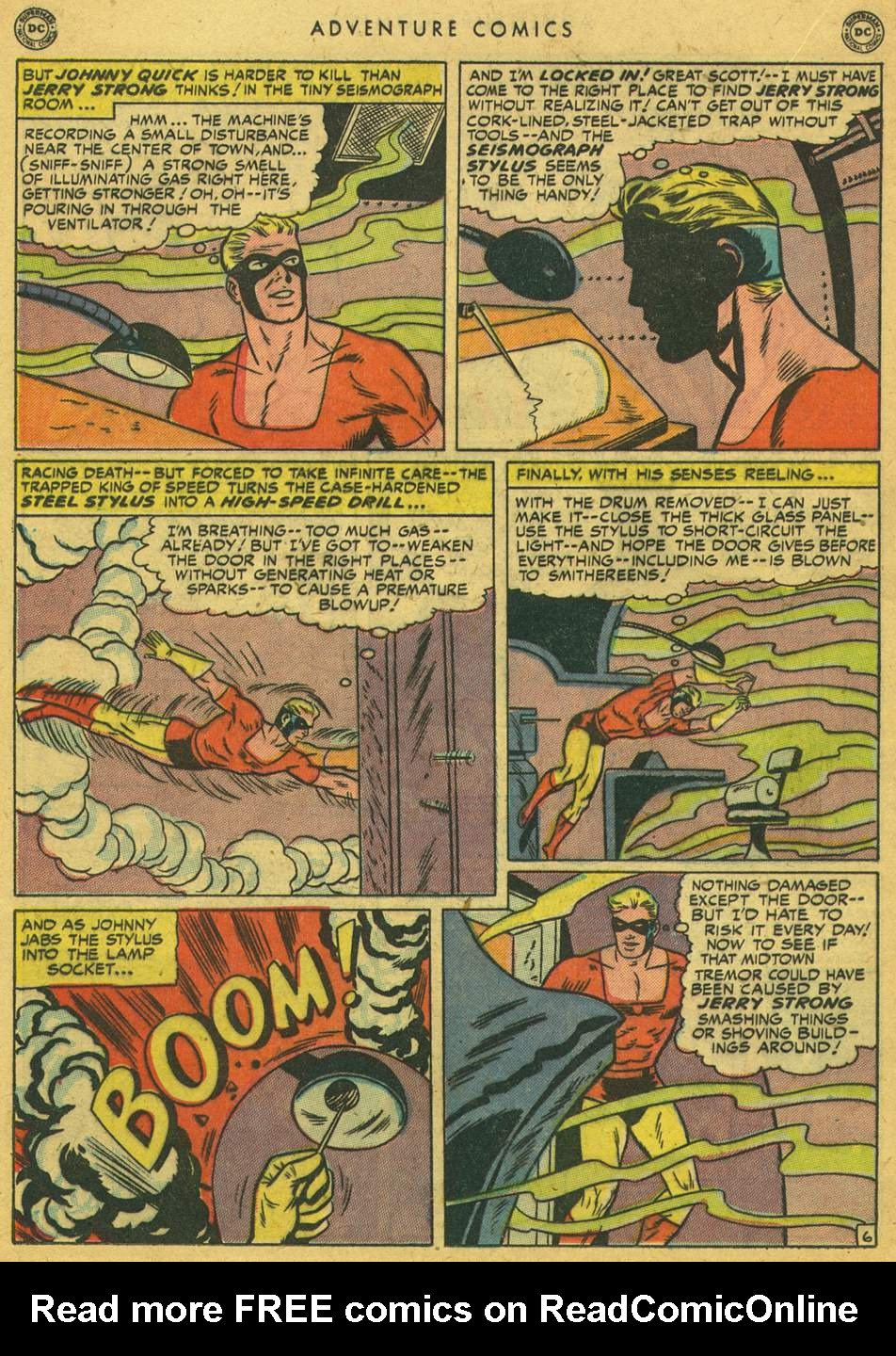 Read online Adventure Comics (1938) comic -  Issue #164 - 22