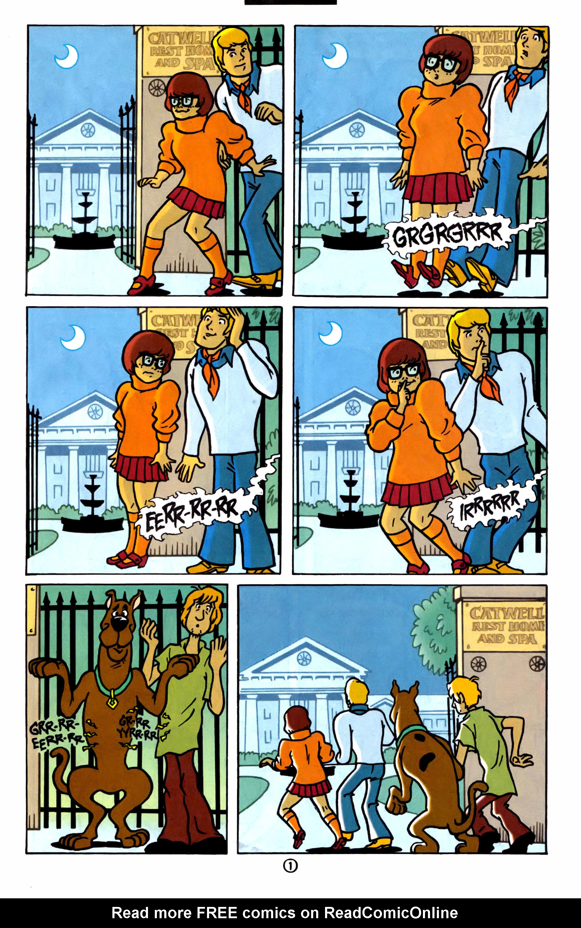 Read online Scooby-Doo (1997) comic -  Issue #1 - 2