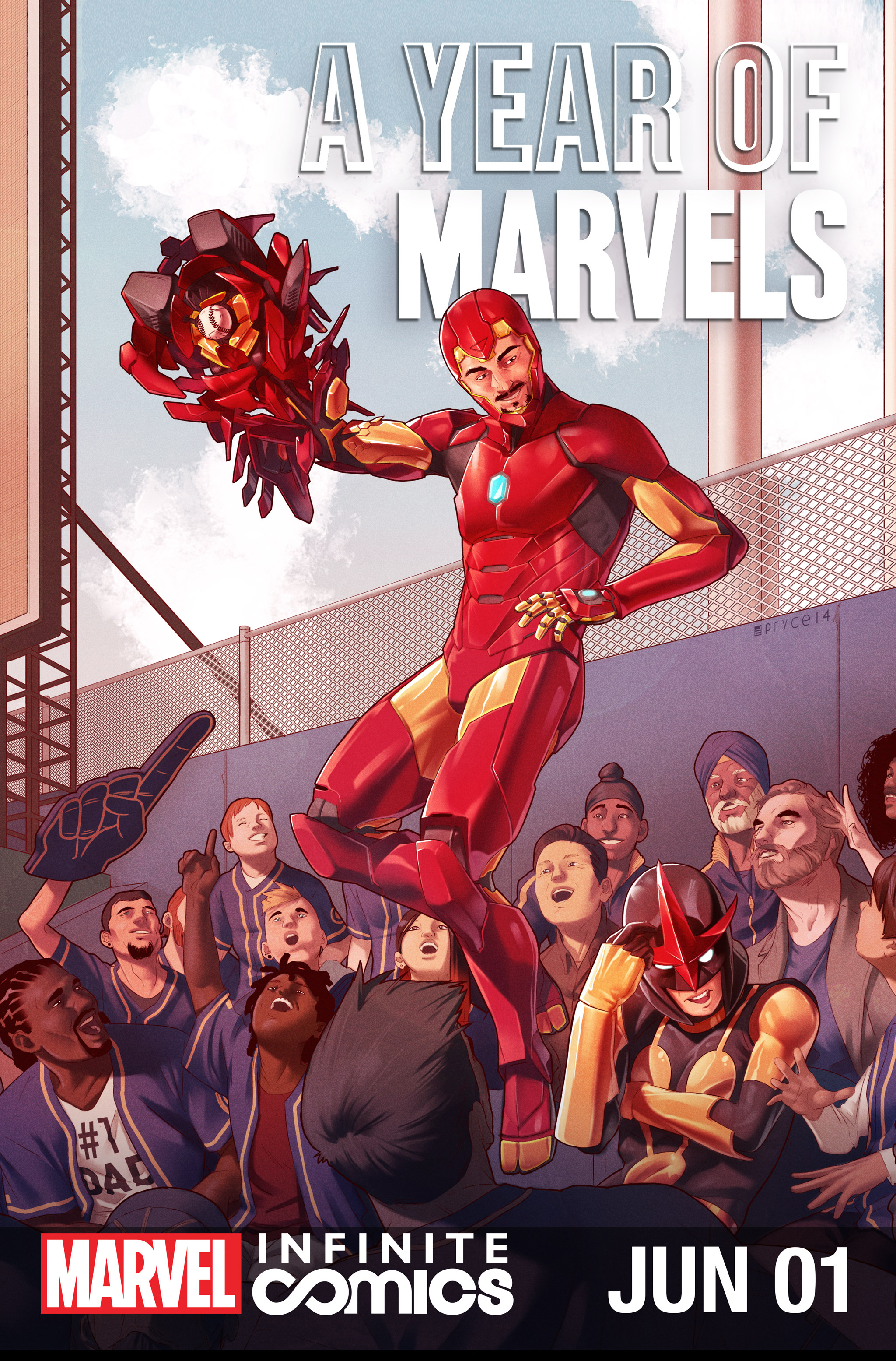 A Year Of Marvels: June Infinite Comic Full Page 1