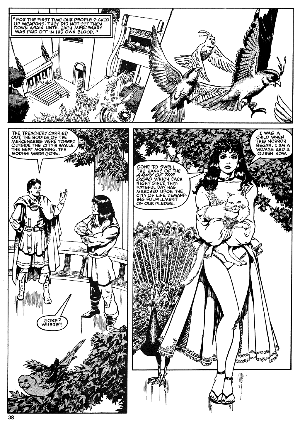 The Savage Sword Of Conan Issue #110 #111 - English 37