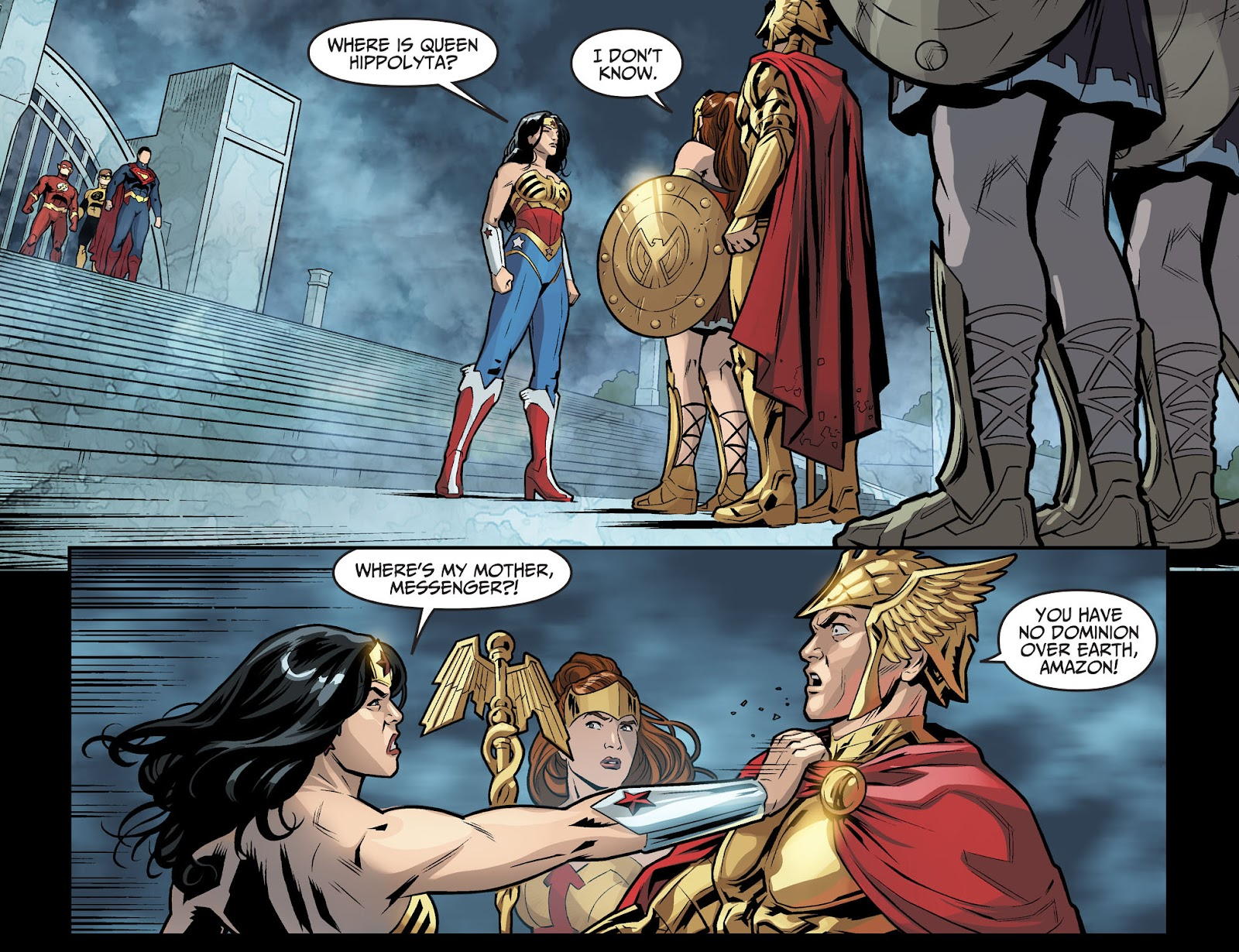 Injustice: Gods Among Us Year Four Issue #6 #7 - English 17