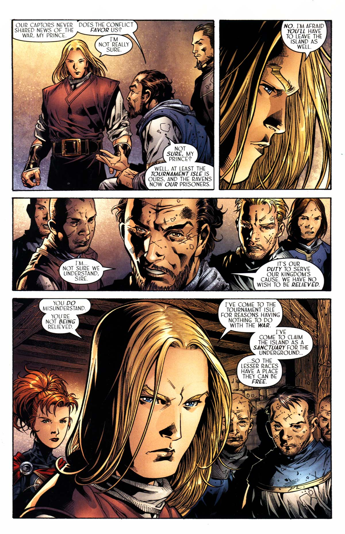 Read online Scion comic -  Issue #23 - 15