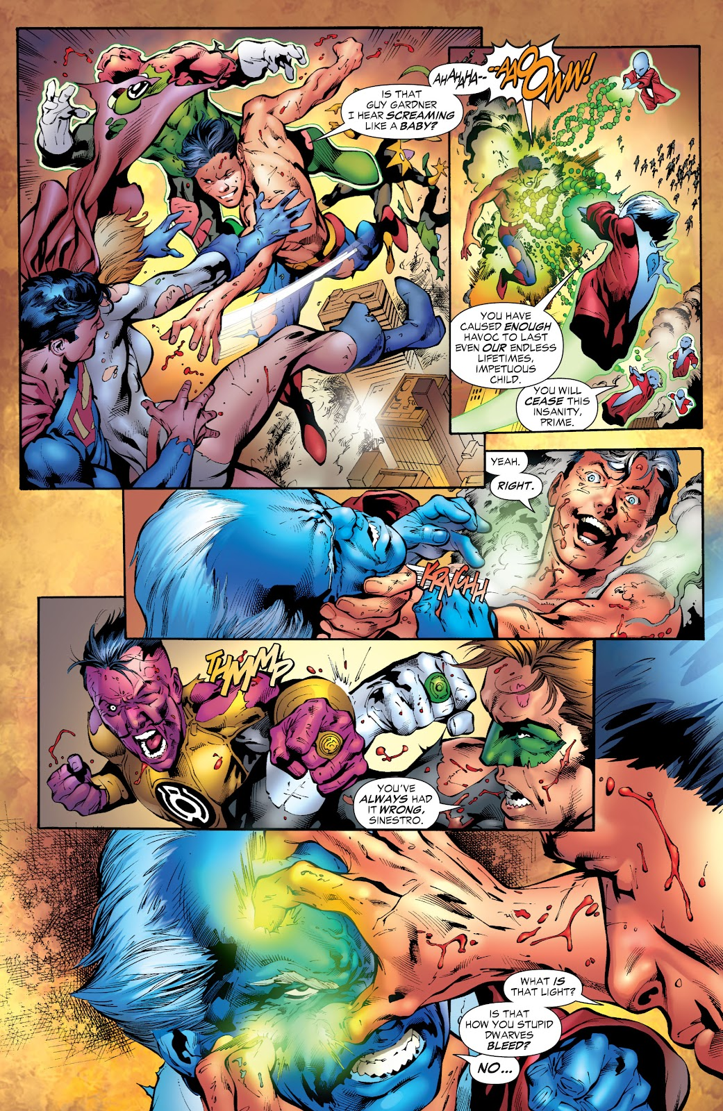 Green Lantern: The Sinestro Corps War Full #1 - English 279