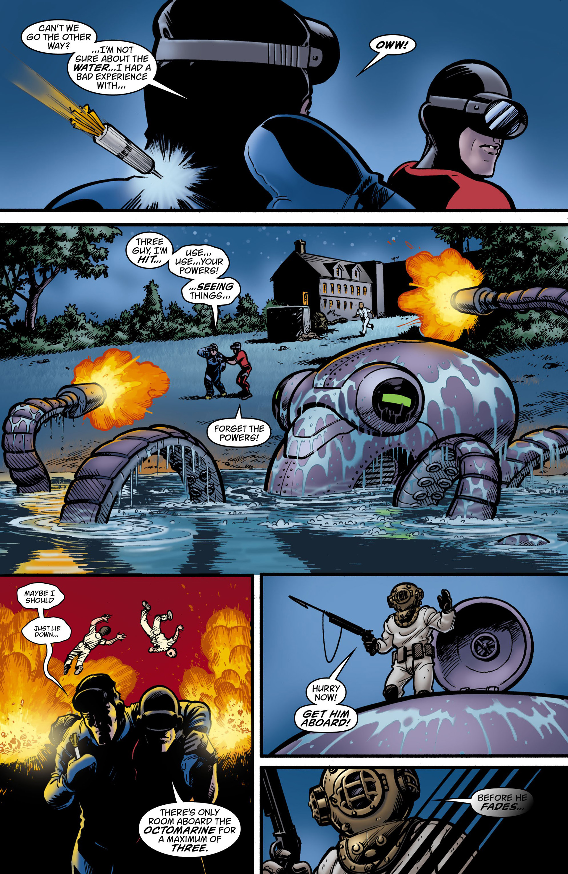 Read online Seaguy: The Slaves of Mickey Eye comic -  Issue #2 - 6